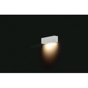 Настенный светильник Nowodvorski Straight Wall White XS 6345