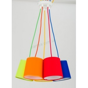 Люстра TK Lighting ARTOS COLOUR 2215