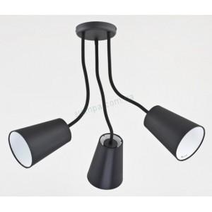 Люстра TK Lighting WIRE BLACK 2103