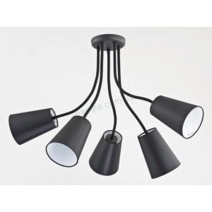 Люстра TK Lighting WIRE BLACK 2104