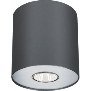 Точечный накладной светильник Nowodvorski 6007 Point Graphite Silver / Graphite White M