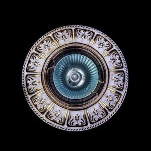 Точечный светильник Art Glass SPOT 50 WHITE GOLD