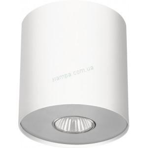 Точечный накладной светильник Nowodvorski 6001 Point White Silver / White Graphite M