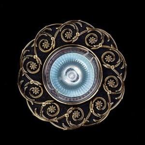 Точечный светильник Art Glass SPOT 52 BRASS ANTIQUE